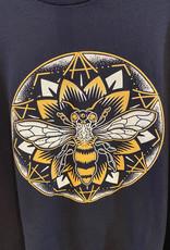 Bee Mandala Organic Cotton Long Sleeve