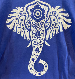 Elephant Mandala Organic Cotton Long Sleeve