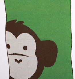 Green 3 Apparel Monkey Jr. Throw
