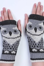 Green 3 Apparel Repeating Owl Handwarmers