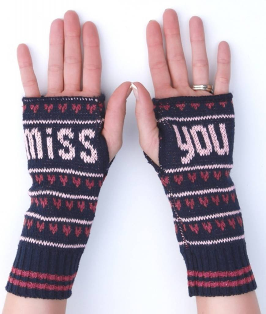 Green 3 Apparel FH15 Miss You Handwarmers