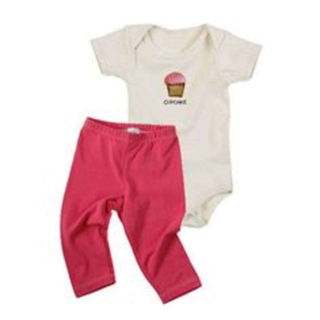 Cupcake/Pink Giftset 3-6mo 3-6 M