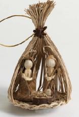 SERRV Toquilla Nativity Ornament