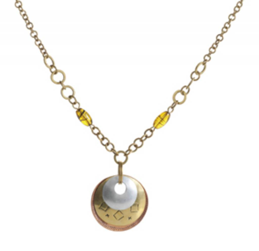 SERRV Triple Disc Necklace