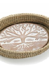 SERRV Tree of Life Bread Warmer & Basket