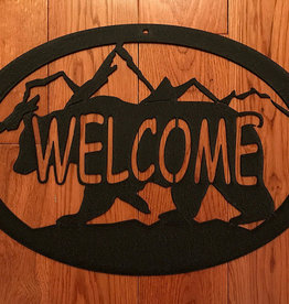 Bear Mountain Welcome Sign