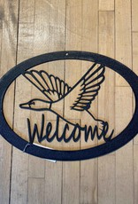 Duck Welcome Sign
