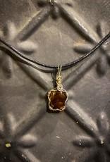 Brooke Jewelry Fire Agate Arizona Pendant