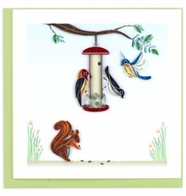 Quilling Card Bird Feeder Quilling Card