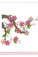 Quilling Card Cherry Blossom Quilling Card