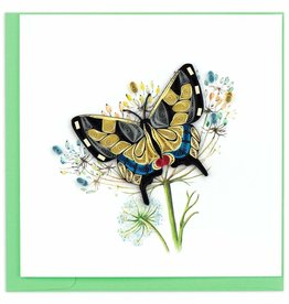 Quilling Card Swallowtail Butterfly Quilling Card