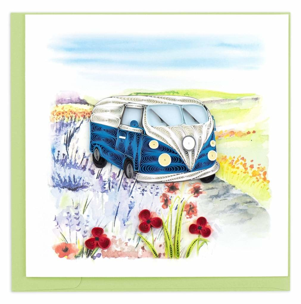 Quilling Card Road Trip Quilling Card