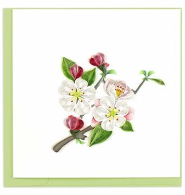 Quilling Card Apple Blossom Quilling Card