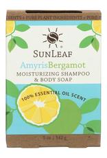 Sunleaf Moisturizing Shampoo & Body Soap