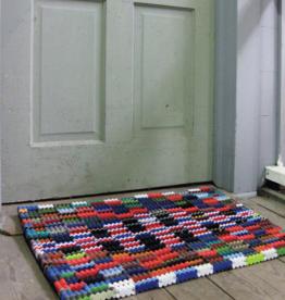 Kalalou Recycled Flip Flop Doormat