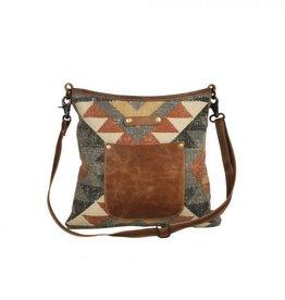 Myra Bag Angle - Tangle Shoulder Bag