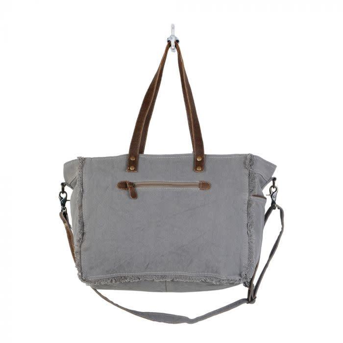 Myra Bag Tribal Print Weekender Bag