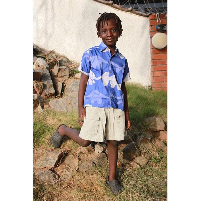 Global Mamas TS Boys Button Down Shirt