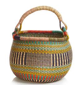 SERRV Round Aloe Basket