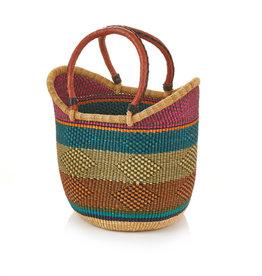 SERRV Adaba Boat Bolga Basket