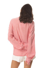 Myra Bag Striped Oversized Shirt