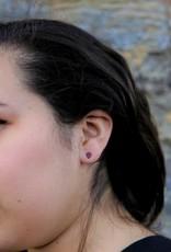 Fair Anita Tiny Bone Stud Earrings