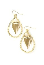 Fair Anita Sunshower Earrings - Brass