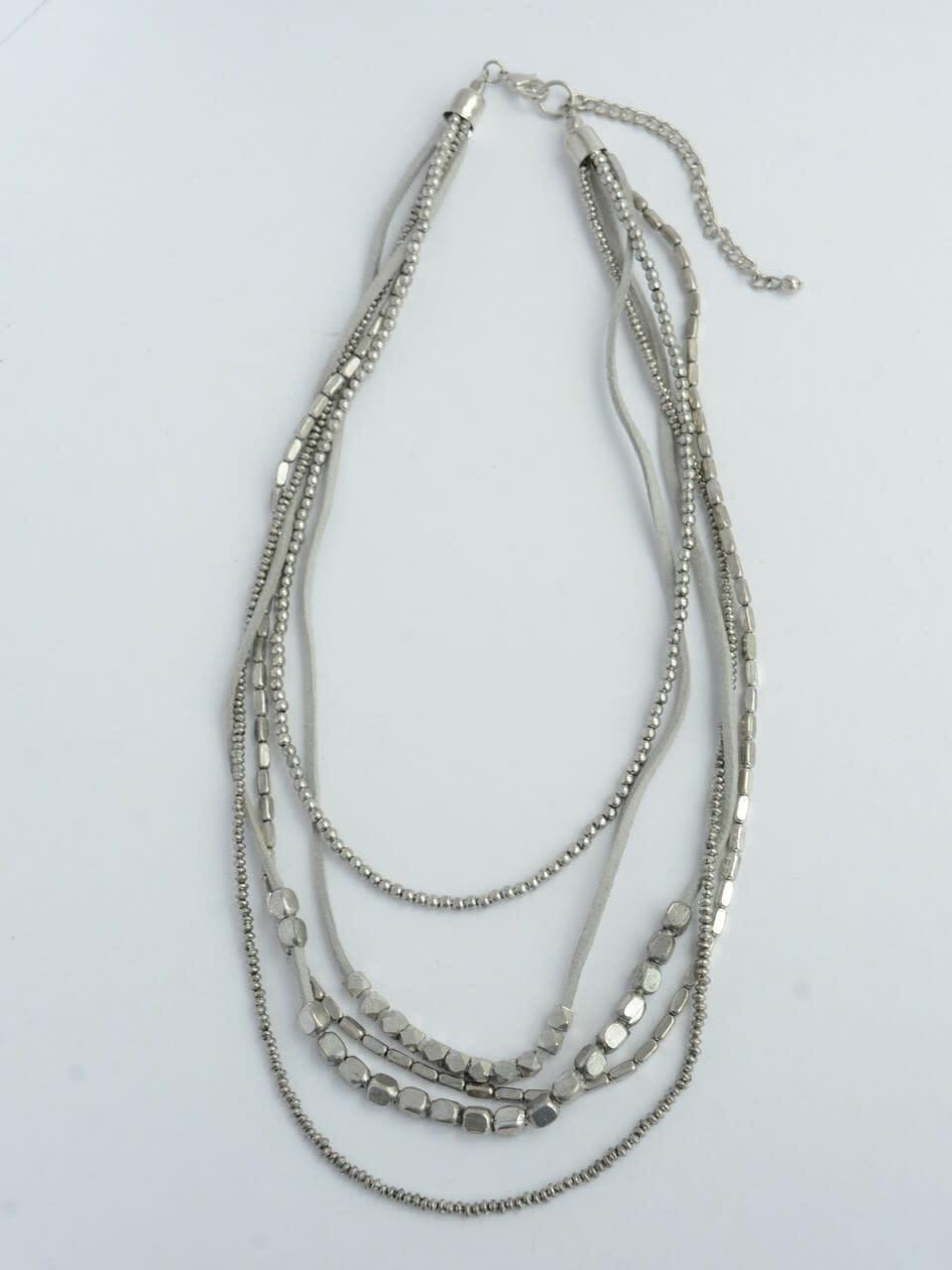 Fair Anita Peace Warrior Necklace- Silver