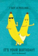 Good Paper Birthday Bananas