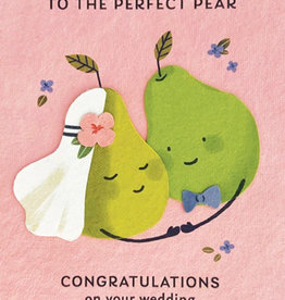 Good Paper Perfect Pear Wedding