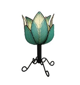Eangee Outdoor/Indoor Lotus Cocoa Lamp