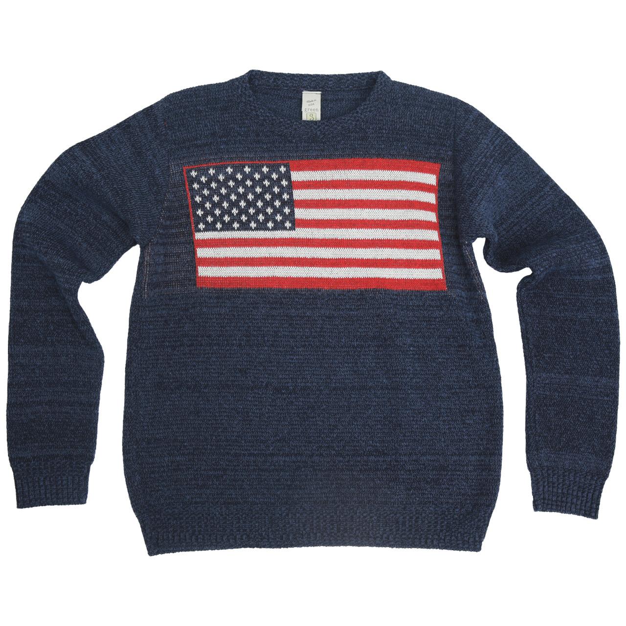 Green 3 Apparel American Crew Sweater