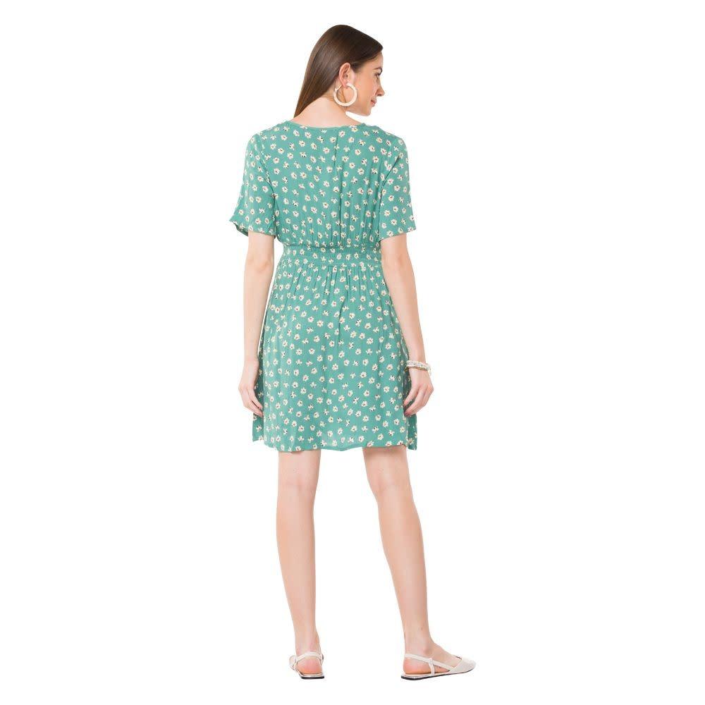 Myra Bag Green Grandeur Dress