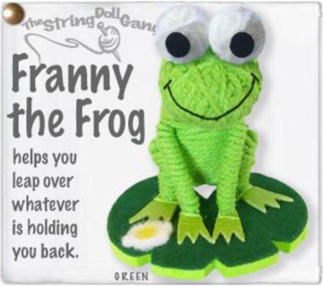 Kamibashi Franny the Frog