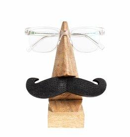 Ten Thousand Villages Mustache Eyeglass Holder