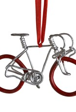 Ten Thousand Villages Pedal Metal Bike Ornament