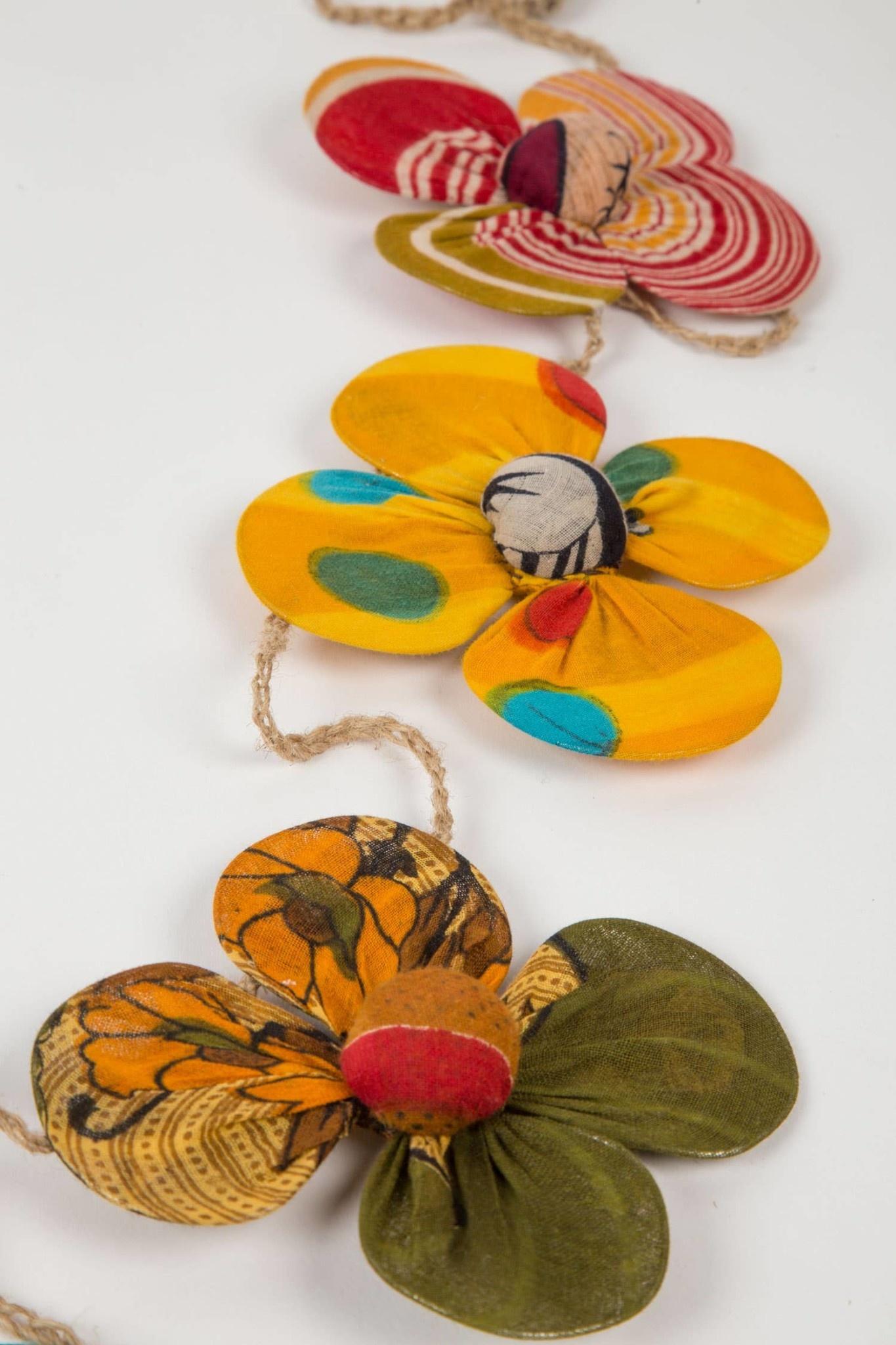 Ten Thousand Villages Recycled Sari Flower Garland