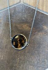 Ziggywear Circle Chicken Feather Necklace
