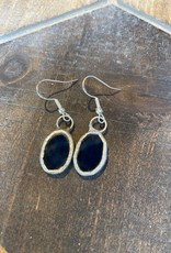 Stained Glass Earrings Oval