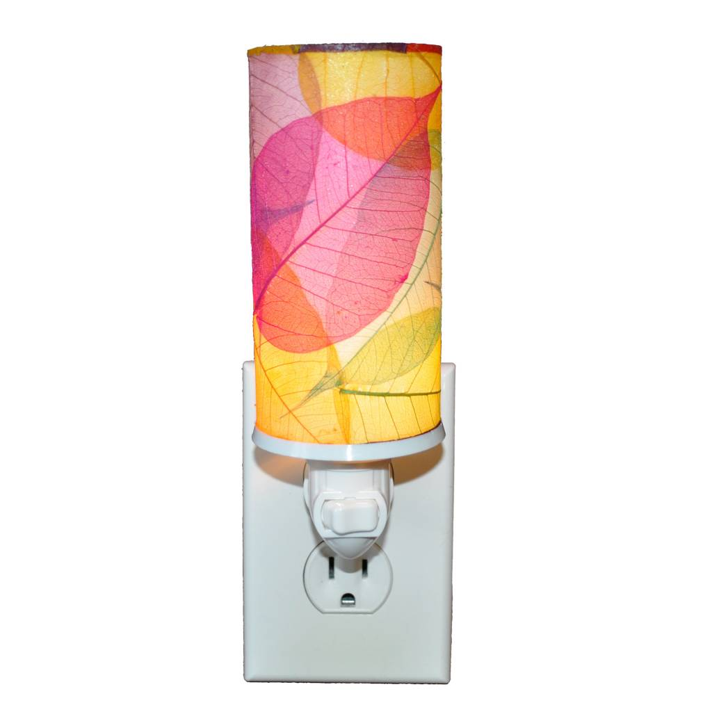 Eangee Cyl Cocoa Leaf Nightlite
