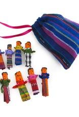 Upavim Crafts Mini Worry Dolls