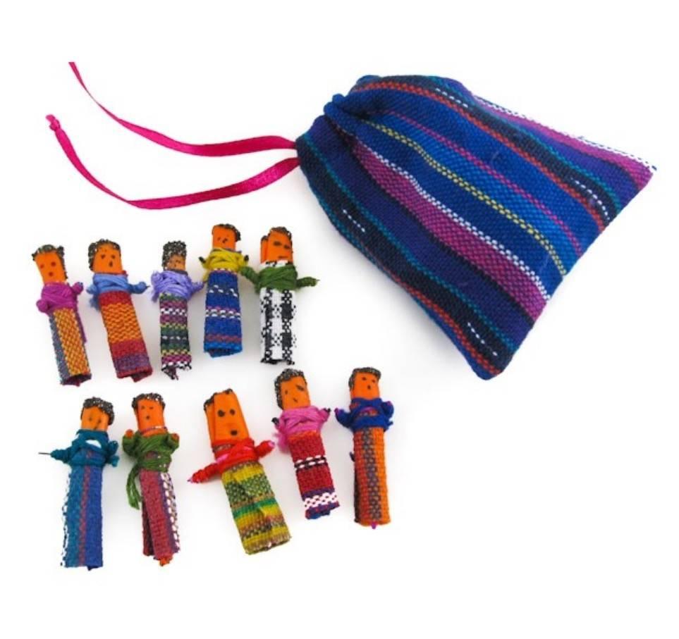 Ten Thousand Villages Mini Worry Dolls