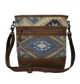 Myra Bag Indigo Craft Shoulder Bag