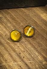 Ziggywear Macaw Resin Stud Earrings