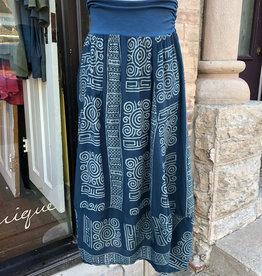 Just Jill Chiffon Ink Inca Crocus Skirt