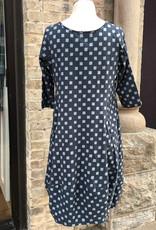 Tulip Arch Dress 3/4 Sleeve