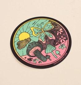 Soul Flower Sunshine Daydream Scene Sticker