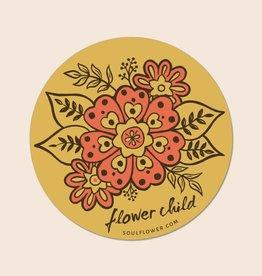 Soul Flower Flower Child Sticker