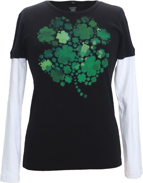 Green 3 Apparel Lucky Clovers