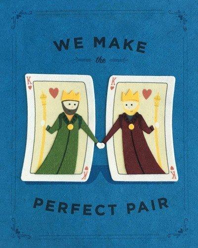Good Paper Perfect Pair Kings